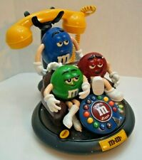 M&M's Candy Animated Talking Moving Land Line Telephone Phone .
