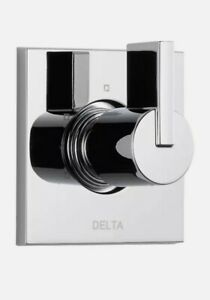 Delta Vero 1-Handle 3-Setting Diverter Valve Trim Kit Chrome 3-Port T11853