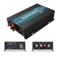 2500W Pure Sine Wave Inverter 24V Dc 120V Mppt Charge Controller 40A Solar Home