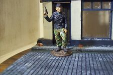 ww2 german tin 1/32 scale tank crew in partial camo professionally painted ek