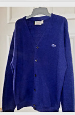 New listing Vintage 1980 Lacoste Cardigan Xl No reserve