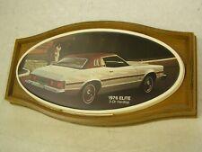 OEM Ford 1976 Torino Elite Showroom Display Picture