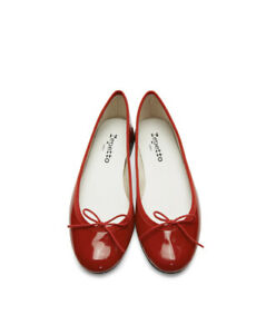 Brand New REPETTO Red Patent Cendrillon Ballerina Flats