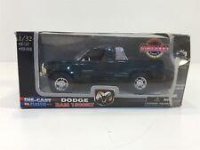 Dodge Ram 1500Slt V8 Green New-Ray 1:32 Nib Die Cast Metal Ss-44723Wm