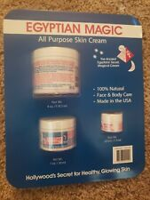 Egyptian magic, All purpose skin cream, 3 pk, New unopened