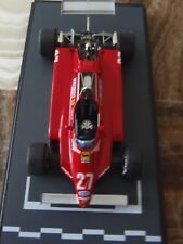 Ferrari 126C2 Zolder 1982 Gilles Villeneuve BBR rare #69 of only 80 peices 1/43