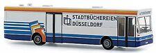 MAN SL 202 Bibliothèques de la ville Düsseldorf blanc-bleu 1:87 Rietze
