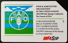 SCHEDA TELEFONICA L. 10.000 FAO 266