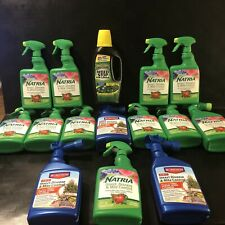 Natria Insect, Disease & Mite Control 14 Bottles Plus Free weed Control Save$