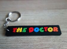 THE DOCTOR Keychain Rubber Keyring Multicolor Collectible Gift New Free Shipping