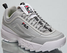 Fila Disruptor R Men's Glacier Grey Navy Casual Chunky Lifestyle Sneakers Shoes