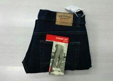 Jeans uomo termico imbottito 46 a 62 foderato in pile caldo strech blu invernale