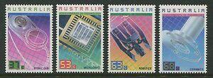 AUSTRALIAN ACHIEVEMENTS IN TECHNOLOGY 1987 - MNH SET OF FOUR (R409-RR)