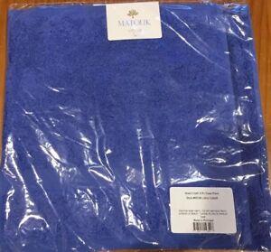 Matouk Lotus WASH CLOTH towel -Set of 2- COBALT (NEW!!)