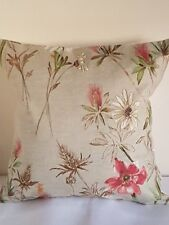 "16"" HANDMADE CUSHION COVER PRESTIGIOUS WORDSWORTH FLORAL FLOWERS CHINTZ COTTAGE"