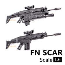 """1:6 1/6 PUBG SCAR Rifle Weapon Gun Model for 12"""" Action Figures"""