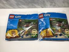 LEGO CITY 40177 City Jungle Explorer Kit (Tent & Minifigure) 40pcs Polybag (x2)