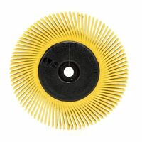 Scotch-Brite8482 Radial Bristle Brush, 6 in x 1/2 in x 1 in 80 With Adaptor