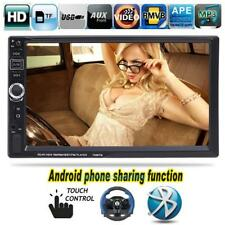 7 inch 2 din Bluetooth Touch Screen Car Radio USB MP4 TF Handsfree Android phone
