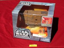 Star Wars Action Fleet JAWA SANDCRAWLER Galoob Micro Machines Silver Logo 1995
