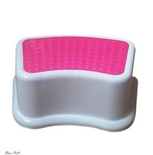 Small Bathroom Accessories One Step Stool Toddler Plastic Portable Lightweight