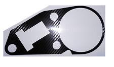 APRILIA RS125 1999-2008 Carbon Fiber Effect Clock Surround Protector Cover Decal