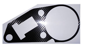 APRILIA RS125 1999-2008 Carbon Fiber Look Clock Surround Protector Cover Decal