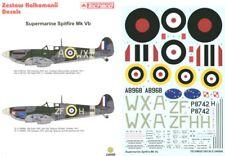 Techmod decals 1/24 Spitfire Mk.Vb 302 Czech Sqn # 24006