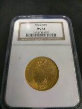 1926 $10 Gold Indian MS64 NGC