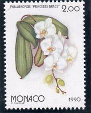 TIMBRE MONACO N° 1710  ** OSAKA 90 / EXPOSITION FLORAL / FLORE / PHALAENOPSIS