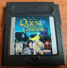 Quest for Camelot Game Boy Game  (Nintendo GameBoy Color, 1998)