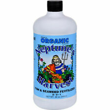 Organic Neptune Harvest Fish And Seaweed Fertilizer 36 Oz
