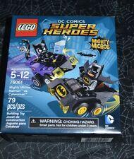 2016 LEGO DC COMICS SUPER HEROES MIGHTY MICROS BATMAN VS CATWOMAN 76061