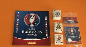 EURO 2016 PANINI - ALBUM VUOTO  + SET COMPLETO + AGGIORNAMENTI