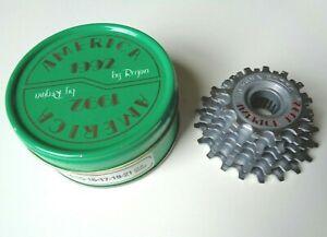 *NOS Vintage REGINA AMERICA 1992 13-21 cogs 7 Speed ISO freewheel cassette*