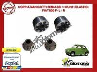 22382 CP GIUNTI + MANICOTTI SEMIASSE RINFORZATO FIAT 500 F L R - 126 600 D EPOCA