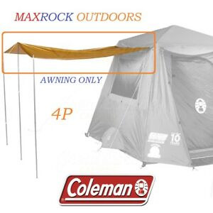 SPARE SIDE AWNING TO SUIT COLEMAN INSTANT UP 4 GOLD TENT - BRAND NEW