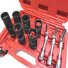 9pc Diesel Injector & Glow Plug Socket Set Removal of Injector & Glow Plugs