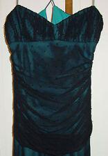 SHELLI SEGAL LADIES BLACK LONG FORMAL DRESS SIZE 8 NWT