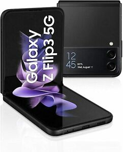 Samsung Galaxy Z Flip3 F711B 5G Phantom Black, SIM+eSIM, 256GB 8GB