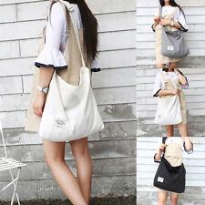 Womens Canvas Crossbody Hobo Bag Large Tote Messenger Shoulder Travel Handbag US