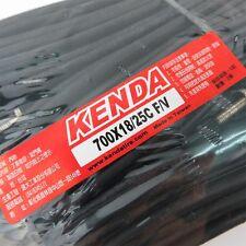 X2 KENDA 700 X 18/25c (30mm) F/v Presta / French Valve Road Bike Tube Tyre Tire