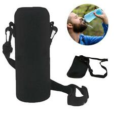 750ml Neoprene Water Bottle Shoulder Carrier Insulated Cover Bag Holder Drink