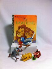 Lion King toy figures And Golden Book