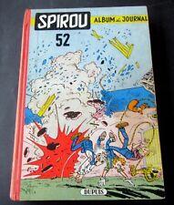 SPIROU RELIURE EDITEUR DUPUIS NO 52 1955  BON ETAT