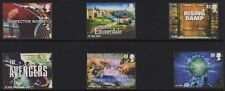 MINT GB 2005 CLASSIC ITV INSPECTOR MORSE THE AVENGERS EMMERDALE STAMP SET OF 6