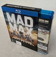 MAD MAX High-Octane 4-Movie Collection Blu-Ray 7-DISC Region B oz seller