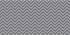 "Pacon PAC55835 Fadeless Design Roll 48"" x 50' Chic Chevron Gray"