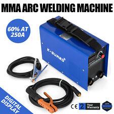 MMA Schweissgerät 5m Kabel 250A Elektroden Profi E-Hand IGBT Inverter 230 Volt