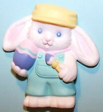 1991 Hallmark NEW Easter CRAYOLA BUNNY RABBIT PAINTER on Card Never Used ELP1189